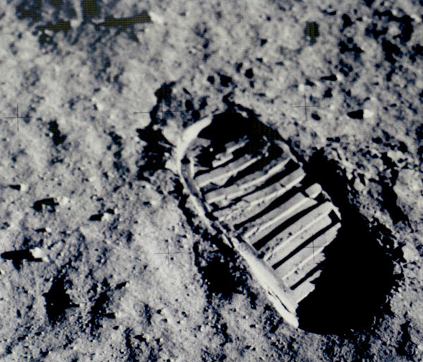First Step on Moon